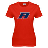 Ladies Red T Shirt-A