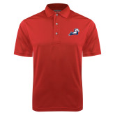 Red Dry Mesh Polo-Secondary Mark