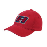Red Flexfit Structured Low Profile Hat-A
