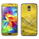 Galaxy S5 Skin-Square and Compass with G