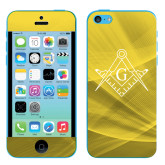 iPhone 5c Skin-Square and Compass with G