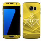 Samsung Galaxy S7 Skin-Square and Compass with G