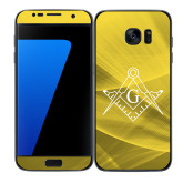 Samsung Galaxy S7 Edge Skin-Square and Compass with G