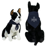 Navy Pet Bandana-Square and Compass with G