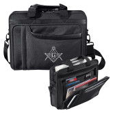 Paragon Black Compu Brief-Square and Compass with G