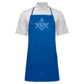 Full Length Royal Apron-Square and Compass with G