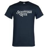 Navy T Shirt-Scottish Rite