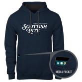 Contemporary Sofspun Navy Heather Hoodie-Scottish Rite
