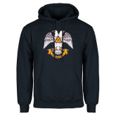 Navy Fleece Hoodie-Freemasons