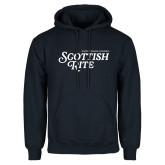 Navy Fleece Hoodie-Scottish Rite