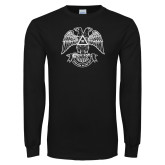 Black Long Sleeve T Shirt-Spes Mea In Deo Est