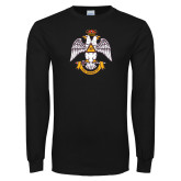 Black Long Sleeve T Shirt-Deus Meumque Jus