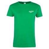 Ladies Kelly Green T Shirt-Scottish Rite
