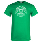 Kelly Green T Shirt-Freemasons