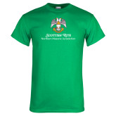 Kelly Green T Shirt-Scottish Rite Lockup