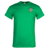 Kelly Green T Shirt-Deus Meumque Jus