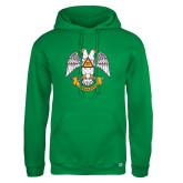 Russell DriPower Kelly Green Fleece Hoodie-Freemasons