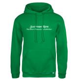 Russell DriPower Kelly Green Fleece Hoodie-Scottish Rite Wordmark