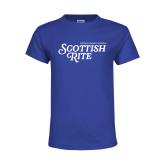 Youth Royal T Shirt-Scottish Rite