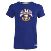 Ladies Russell Royal Essential T Shirt-Freemasons
