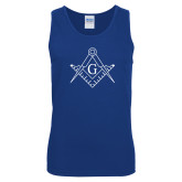 Royal Tank Top-Square and Compass with G