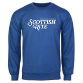 Royal Fleece Crew-Scottish Rite