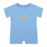 Light Blue Infant Romper-Future Freemason