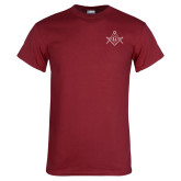 Cardinal T Shirt-Square and Compass with G