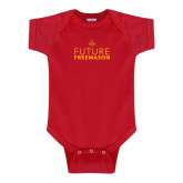 Red Infant Onesie-Future Freemason