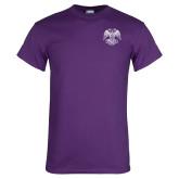 Purple T Shirt-Spes Mea In Deo Est