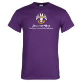 Purple T Shirt-Scottish Rite Lockup