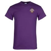 Purple T Shirt-Deus Meumque Jus