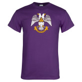 Purple T Shirt-Freemasons