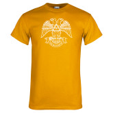Gold T Shirt-Spes Mea In Deo Est