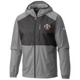 Columbia Flash Forward Grey/Black Wind Jacket-Spes Mea In Deo Est