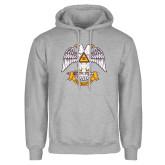 Grey Fleece Hoodie-Freemasons