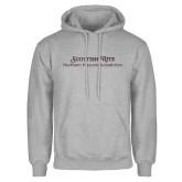 Grey Fleece Hoodie-Scottish Rite Wordmark