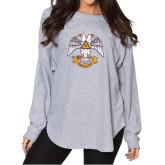 Ladies Grey Sherpa Slouch Jersey-Freemasons