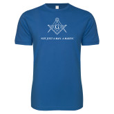 Next Level SoftStyle Royal T Shirt-Not Just A Man A Mason