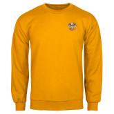 Gold Fleece Crew-Spes Mea In Deo Est
