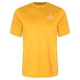 Performance Gold Tee-Square and Compass with G