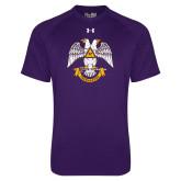 Under Armour Purple Tech Tee-Freemasons