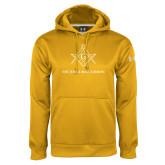 Under Armour Gold Performance Sweats Team Hoodie-Not Just A Man A Mason