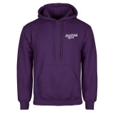 Purple Fleece Hoodie-Scottish Rite
