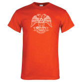 Orange T Shirt-Spes Mea In Deo Est