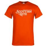 Orange T Shirt-Scottish Rite
