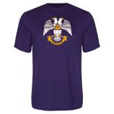 Performance Purple Tee-Freemasons