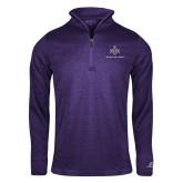 Russell Purple Heather 1/4 Zip-Not Just A Man A Mason