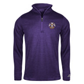 Russell Purple Heather 1/4 Zip-Freemasons