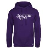 Russell DriPower Purple Fleece Hoodie-Scottish Rite